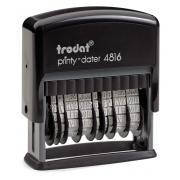 Trodat Printy 4816, 2x datum, dvoudatum, datumovka, datumové razítko, 4mm