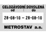 Razítko Trodat 5466PL Professional, 2x datum, dvoudatum, datumovka, datumové razítko, 4mm