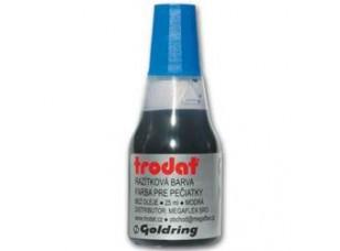 Razítková barva Trodat, modrá, 25 ml