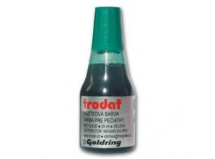 Razítková barva Trodat, zelená, 25 ml